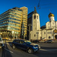 Москва, площадь Белорусского вокзала, церковь староверов :: Игорь Герман