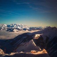 Предзакатная... ледник Кицштайнхорн.Целль-ам-Зее.Австрия! :: Александр Вивчарик