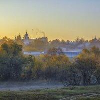 Утренний пейзаж :: Сергей Цветков