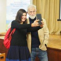 С Камилем Зиганшиным после лекции. :: Ильсияр Шакирова
