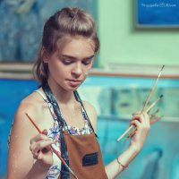 Вдохновлённая... :: Юлия Тягушова
