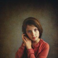 Портрет девочки :: Анна Фрошгайзер