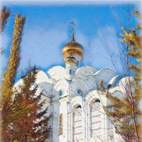 Златоуст. Храм. :: Александр Шимохин
