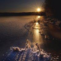 На замёрзшем пруду... :: Станислав Иншаков