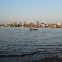 Лов щуки с лодки :: Галина Квасникова