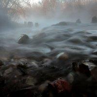 Речные туманы осеннего рассвета... :: Андрей Войцехов