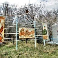 Памятник жителям деревни, погибшим в Великой Отечественной войне. :: Владимир