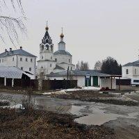 Никольский Волосовский монастырь :: Евгений Кочуров