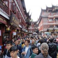 Воскресный променад в Шанхае :: svk
