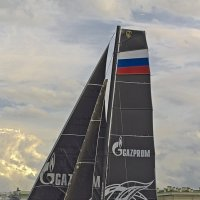 Катамаран Gazprom Team Russia. :: Senior Веселков Петр