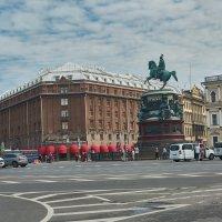 Исаакиевская площадь :: Натали Зимина