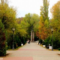 Таганрог. На Пушкинской набережной :: Нина Бутко