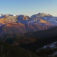 Кавказские горы :: Ольга