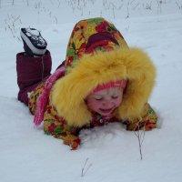 Упс, по самые плечи... :: Светлана Рябова-Шатунова