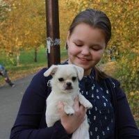 Портрет с собачкой :: Вячеслав & Алёна Макаренины