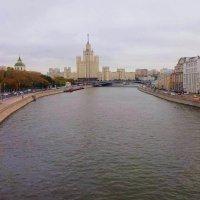 """6.вид на Москву с """"парящего моста"""" :: Николай Мартынов"""