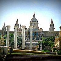 Барселона.Музей Национального Искусства Каталонии. Поющие фонтаны. :: Владимир Драгунский