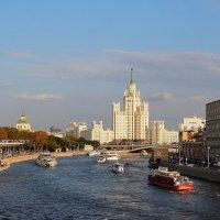 С Большого Москворецкого моста :: Евгений Седов