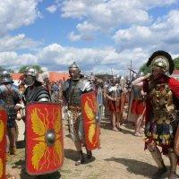 Римские Легионы в Коломенском :: Vera Ostroumova