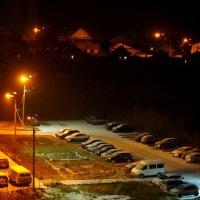 Ночью выпал снег. :: Ильсияр Шакирова