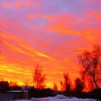Рассвет в декабре :: Николай Мартынов