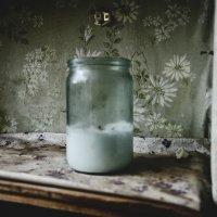 Банка-свеча. :: Ирэна Мазакина