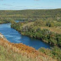 Река Сылва. Греховская гора :: Алексей Сметкин