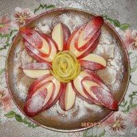Шарлотка с яблоками :: IRENE N (miss.nickolaeva)