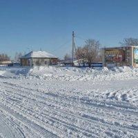 Центр моего села (Алтайский край, село Рыбное) :: Светлана Рябова-Шатунова