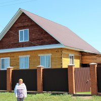Домик в деревне. :: Венера Чуйкова