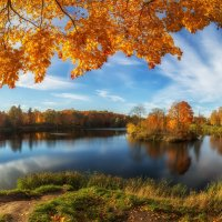 Осенний пейзаж :: Григорий Храмов