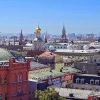 3.крыши Москвы :: Николай Мартынов