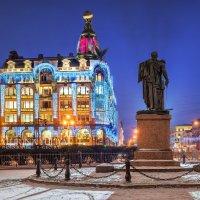 Дом Зингера в Новый год :: Юлия Батурина