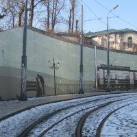 Трамвай №5 и граффити :: Александр Скамо
