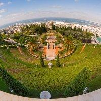 Море,Хайфа, Бахайские сады :: Владимир Демчишин