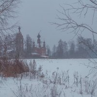 Про зиму-зимушку :: Александра
