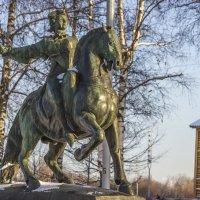Коломенское. Памятник Елизавете Петровне :: Петр Беляков