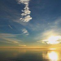 Небо над заливом :: Татьянка *