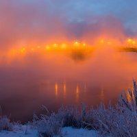 Кусочек панорамы Глазковского моста. :: Nikolay Svetin