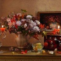 Осень! разноцветная и яркая... :: Валентина Колова