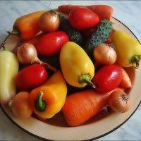 Осень. Овощи :: Нина Корешкова