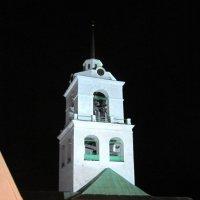 Псковский Кремль ночью. Колокольня. XIX век. :: Ирина ***