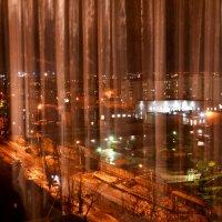 Ночь,улица,окно :: дмитрий глебов