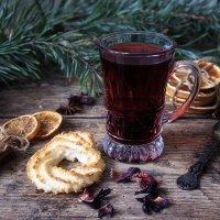 Зимний чай каркаде :: Ирина Приходько