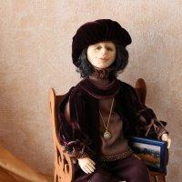 Моя вторая рукотворная кукла художник Тэо, год создания 2008, в Московской Школе Кукольного Дизайна :: Надежд@ Шавенкова