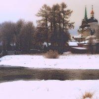Зимняя графика :: Нэля Лысенко