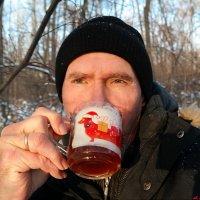 Хорошо хлебнуть горячего чайку в зимнем лесу! :: Андрей Заломленков