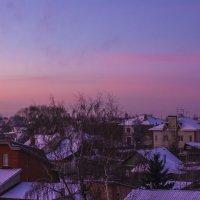 Взгляд с балкона, начало дня. :: Петр Беляков