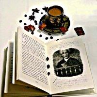 Кофе, шоколад и книга. :: Михаил Столяров