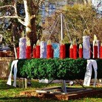 Очень большой рождественский венок :: Aida10
